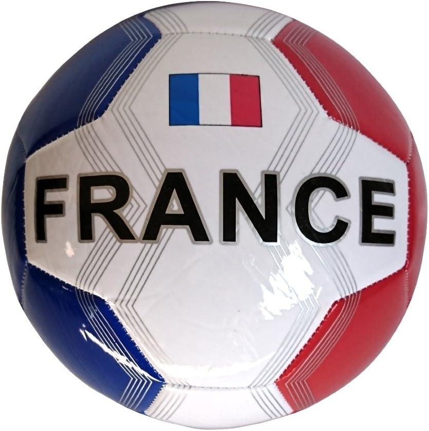 abrakado 1 de balón de fútbol de piel Francia: Amazon.es: Deportes ...