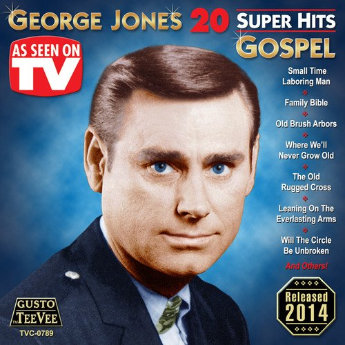 CD : George Jones - 20 Super Hits Gospel (CD)