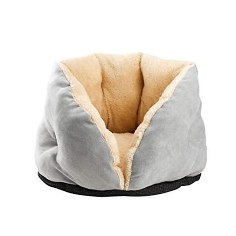 ZJ Cama Premium con pétalos para Gatos, cómoda litera para ...