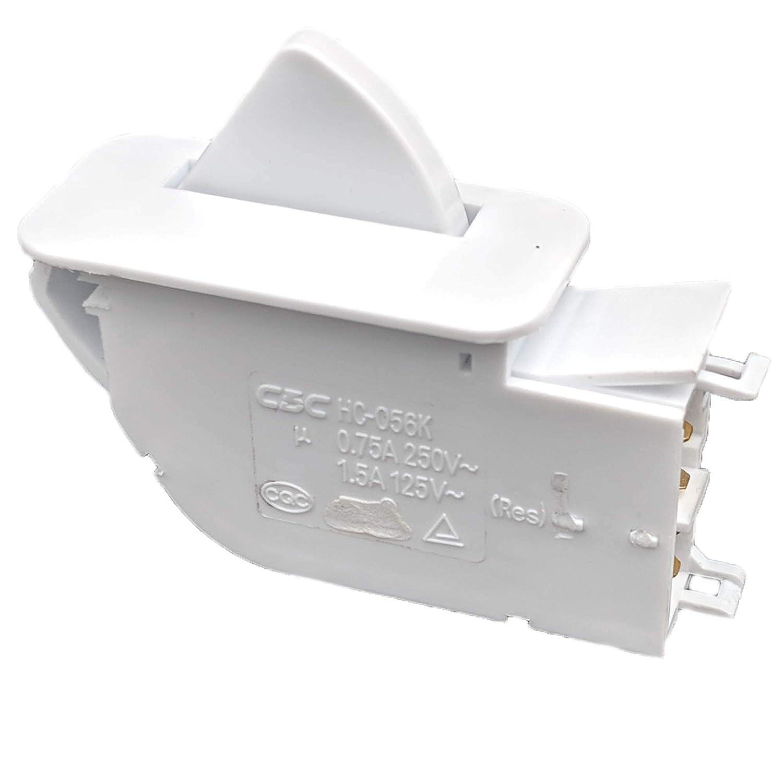 Supplying Demand 6600JB1010A Refrigerator Door Switch Fits 6600JB1010K