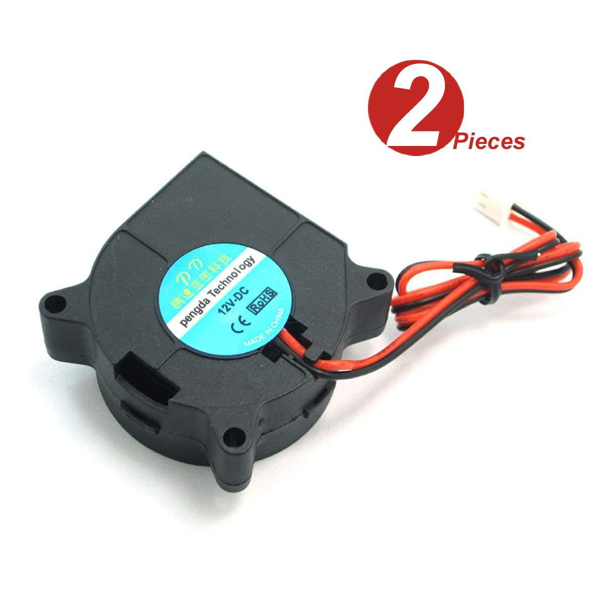DollaTek 2Pcs ventilador de refrigeración de la impresora 3D DC ...