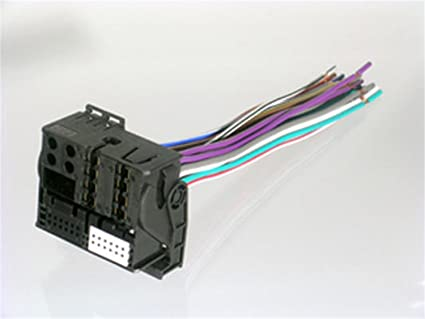 [DIAGRAM_4FR]  Amazon.com: SCOSCHE VW03RB 2002-Up Volkswagen Replacement Harness for  Factory Radio: Car Electronics   Scosche Wiring Harness Vw Audi      Amazon.com