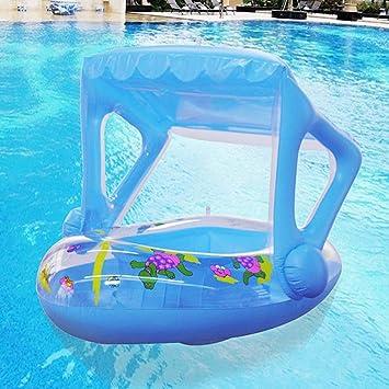 Lacyie Asiento inflable para bebés Balsa flotadora Asiento para ...