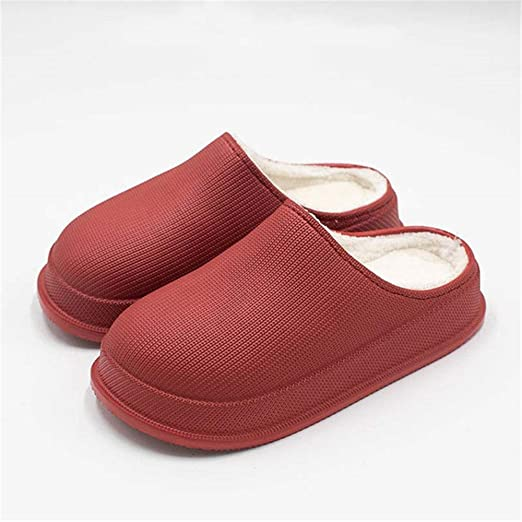 Slippers Comfortable Warm Plush Lining