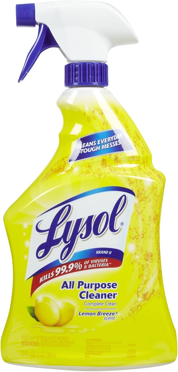 Lysol All Purpose Cleaner Spray - 32 oz - Lemon Breeze