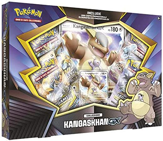 Kangaskhan-GX - Pokémon Collection (Italiano): Amazon.es: Juguetes y juegos