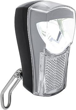 BV Luz Delantera para Bicicleta, Faro LED para Bicicleta Super Brillante, Impermeable Vendimia Bike Lámpara de luz Frontal (Negro): Amazon.es: Deportes y aire libre