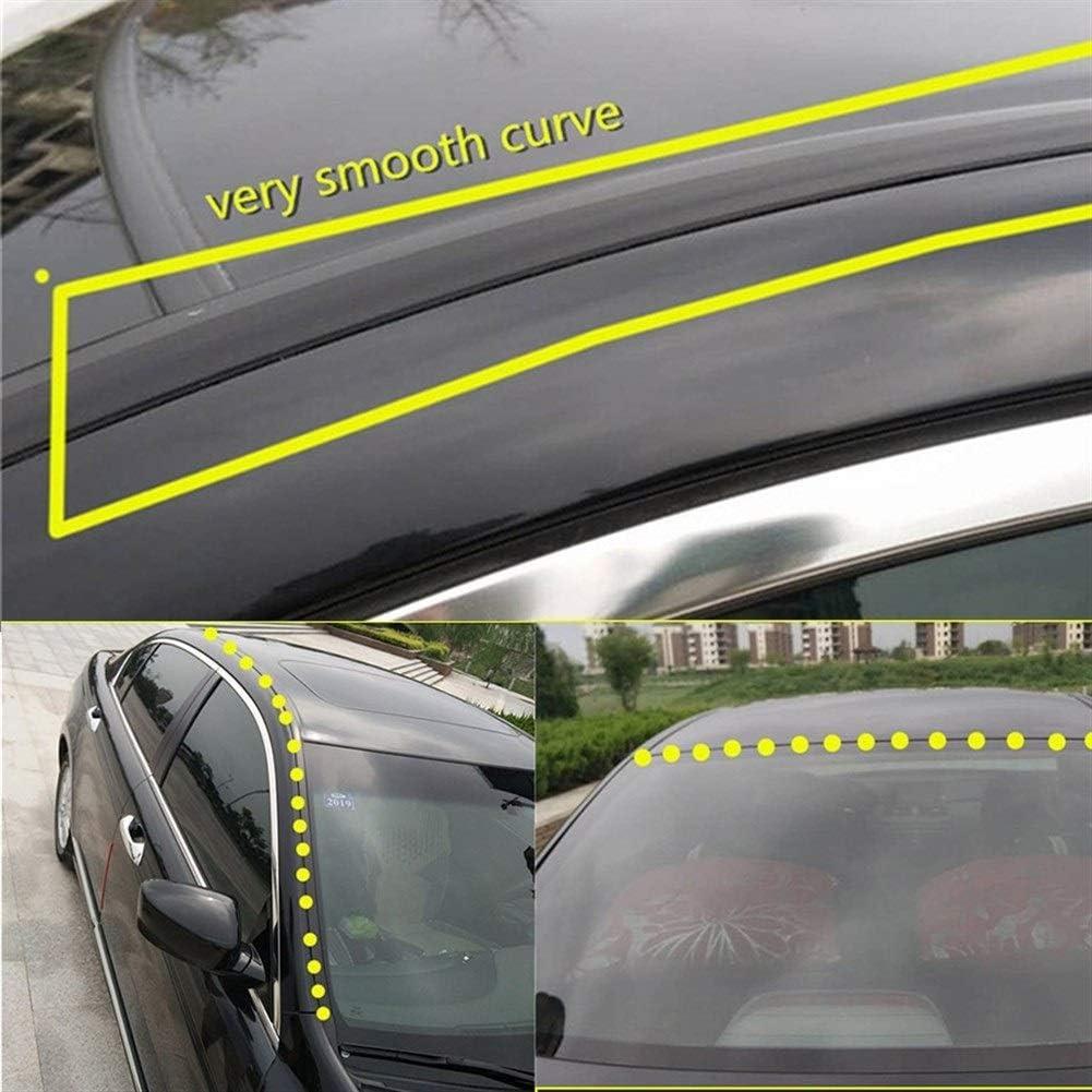 KJLTLD Sellos de Goma para autom/óviles 1,6 m Sello de Parabrisas//Apto para Ford Focus 2 3 mk2 Fiesta ecosport kuga Mondeo mk4 Fusion Ranger Explorer