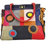 Color : Orange, Size : S MUMUWU Womens Shoulder Bag Fashion Multicolor Crossbody Handle Buckle Multi-Volume Wallet