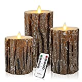 Cheap Vinkor Flameless Candles Flickering Candles Decorative Battery Flameless Candle Classic Real Wax Pillar with Dancing LED Flame & 10-Key Remote Control 2/4/6/8 Hours Timers (Birch Effect)