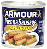 Armour Vienna Sausage, Smoked, 4.6 Ounce (Pack of 24)