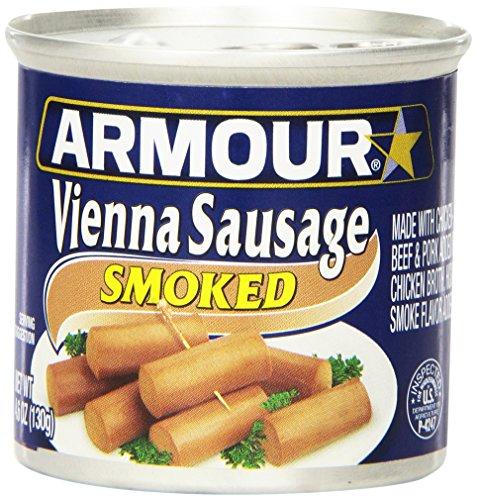 Armour Vienna Sausage, Smoked, 4.6 Ounce (Pack of (Armour Sausage)