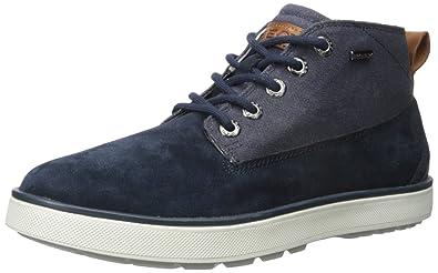 Geox U Mattias B ABX A, Sneakers Basses Homme - Bleu (Navy), 44