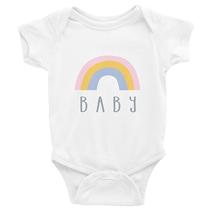 Amazon.com: Rainbow Baby Shower, pijama para bebé//Nuevo ...