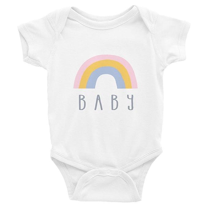 Amazon.com: Rainbow Baby Shower, pijama para bebé//Nuevo ...