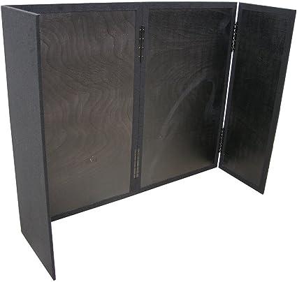 DJ Facade Equipment tapete plegable portátil de madera de 5/8 pulgadas para cabina de trabajo pesado: Amazon.es: Instrumentos musicales