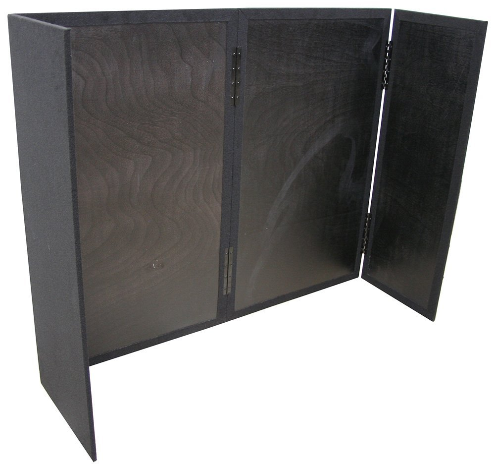DJ Facade Equipment Heavy Duty 5/8'' Wood Portable Folding Booth Carpet