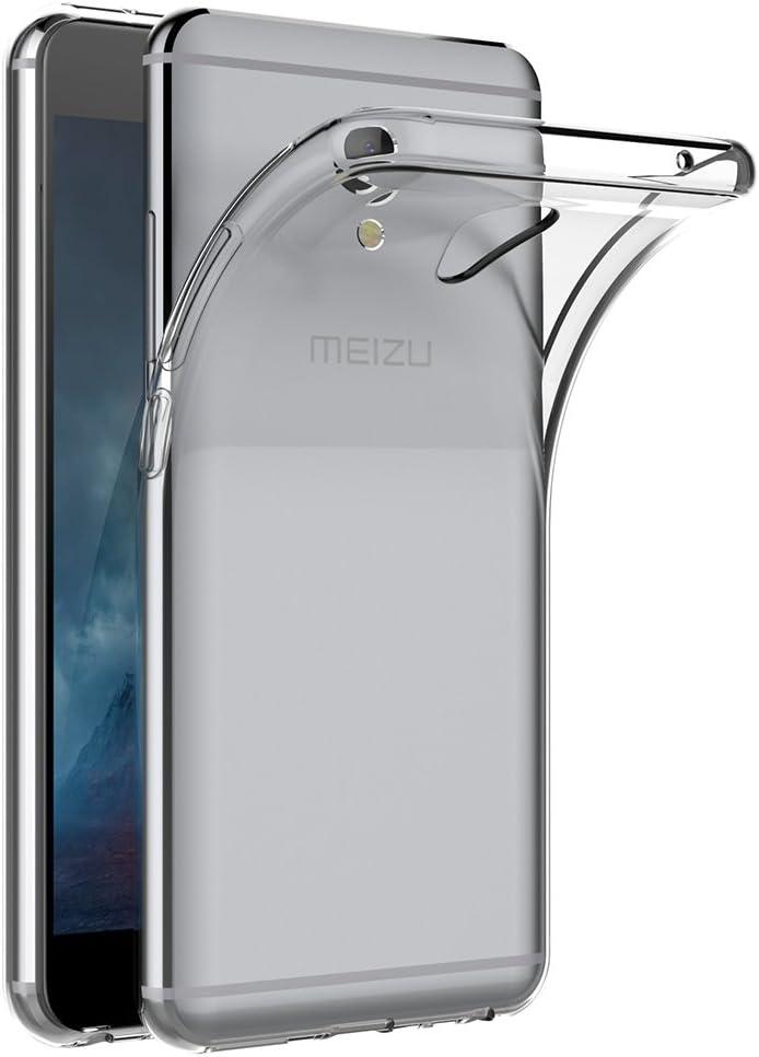 AICEK Funda Meizu M5 Note, Transparente Silicona Fundas para Meizu ...
