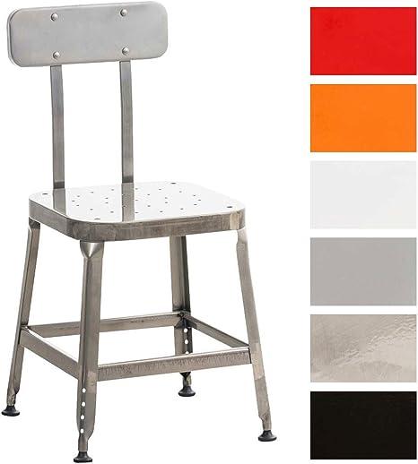 Clp Chaise En Metal Easton Chaise De Cuisine A 4 Pieds Chaise De
