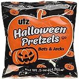 Utz Halloween Bat & Pumpkin Shaped Treats Pretzel, 20 oz, 40 Bags