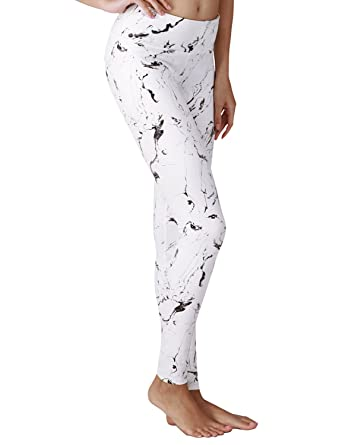 52f78aa3b22fd2 YOGARURU - Yoga Pant for Women - Performance Activewear Printed Yoga  Leggings - Hidden Pocket (From XS to 2XL), Marbleblackwhite, M at Amazon  Women's ...