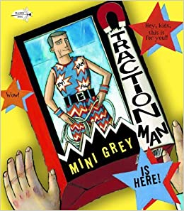 Traction Man Is Here! by Mini Grey (2012-06-12)