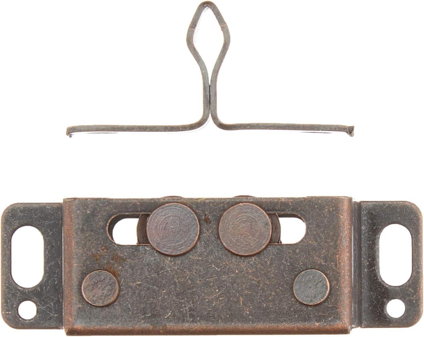 FAWO Metall-Zugverschluss lose braun
