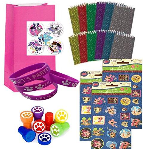 Littlest Pet Shop LPS Party Favor Sets - 12 (Lps Party Supplies)