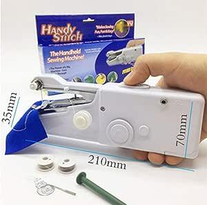 JUNSHUO Portátil Kit de Máquina de Coser Mini Manual Herramienta ...