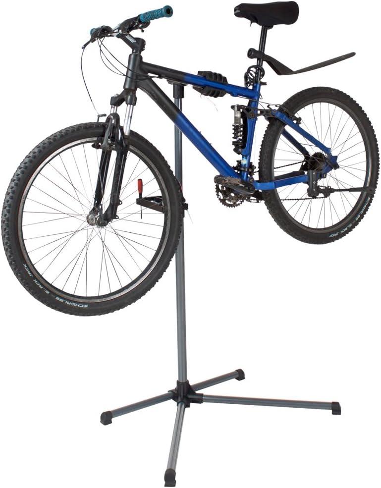 TecTake - Soporte de pie para taller o reparación de bicicletas ...