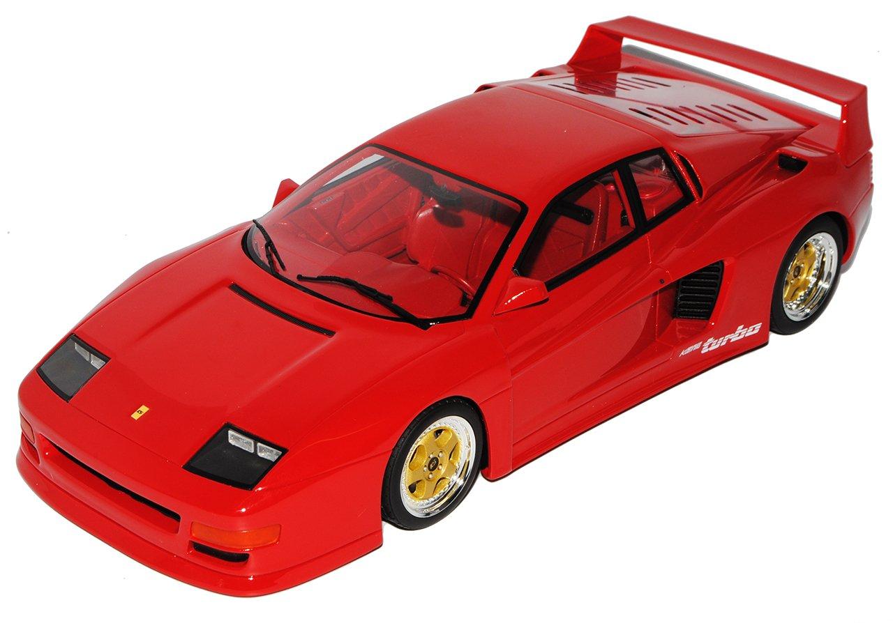 GT Spirit König Competition Evolution Rot 1000CV Ferrari F40 Rot Nr 69 1 18 Modell Auto mit individiuellem Wunschkennzeichen  Mit Wunschkennzeichen