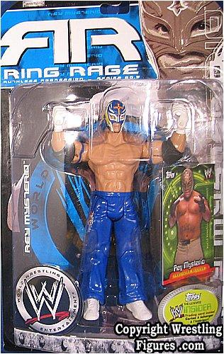 WWE JAKKS REY MYSTERIO RUTHLESS AGGRESSION 20.5 FIGURE by Jakks Pacific (Rey Mysterio Wwe)