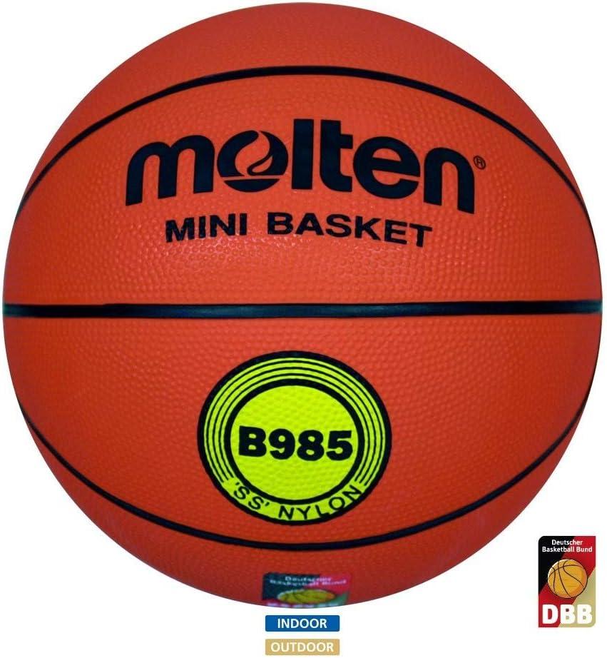 MOLTEN B985 - Pelota de Baloncesto, Color Naranja, Talla 5: Amazon ...