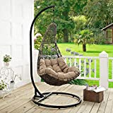 Modway Abate Outdoor Patio Swing Chair