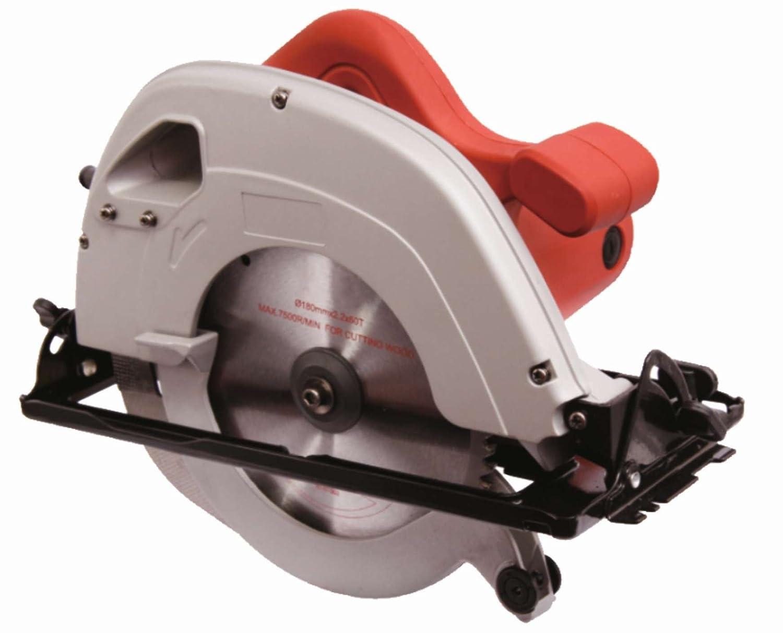 DCK – A Dongcheng Brand Aluminium 7-inch Circular Saw (1100 Watt, Red)