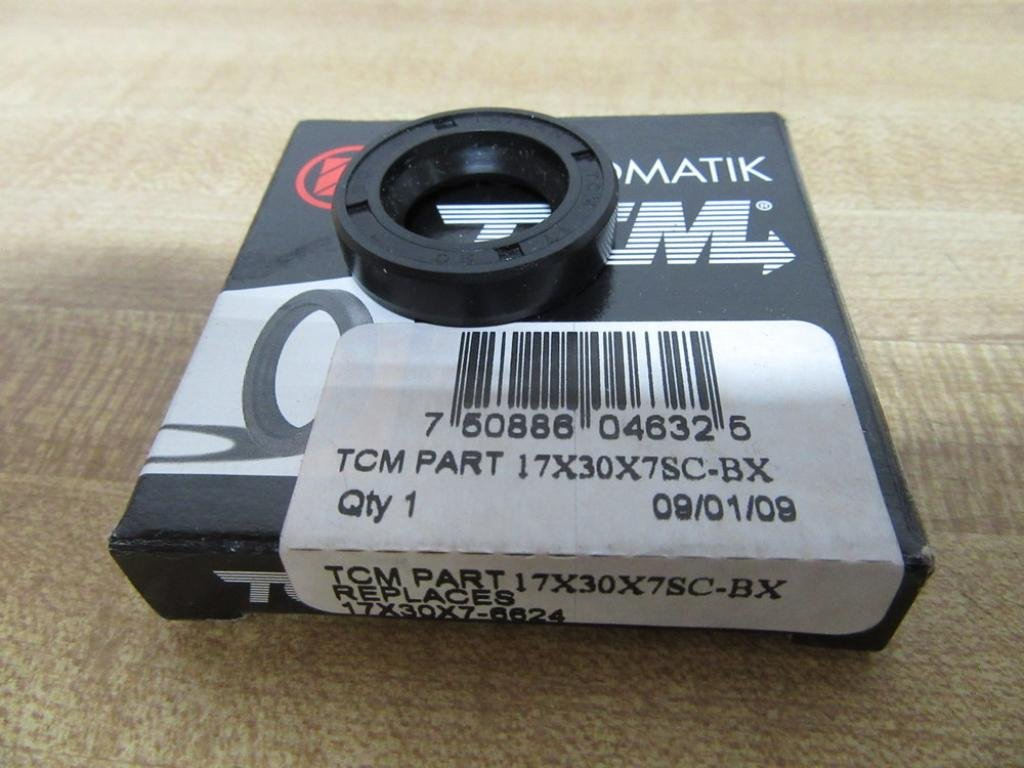 SC Type //Carbon Steel Oil Seal TCM 30X62X7SC-BX NBR 1.181 x 2.441 x 0.276 Buna Rubber