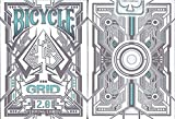 Bicycle Grid 2.0 Playing Cards Glows Under Ultraviolet Light