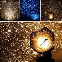 Ledmomo - Proyector de luz LED, lámpara de noche, 3 modos de ...