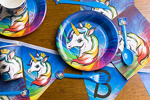 Review Unicorn birthday party supplies