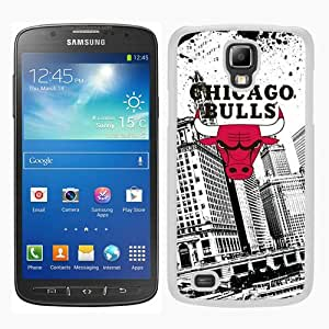 Beautiful Classic Chicago Bulls White Case For Samsung Galaxy S4 Active i9295