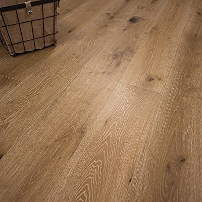 "Wide Plank 7 1/2"" x 5/8"" European French Oak (Washington) Prefinished Engineered Wood Flooring Sample at Discount Prices by Hurst Hardwoods"