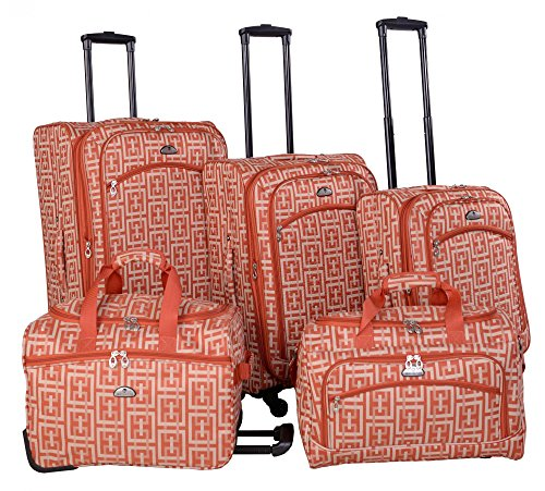 american-flyer-brick-wall-collection-5-piece-spinner-luggage-set-orange