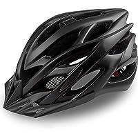 KINGLEAD Kask rowerowy ze światłem LED do wielokrotnego ładowania, kask rowerowy unisex do wyścigów na rowerze, jazdy na…