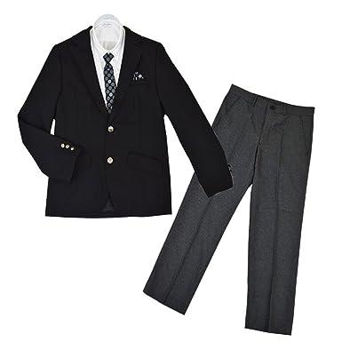 d596accfdeb9c 卒業式 トラッドスタイル ブレザースーツ フォーマル ゆったりサイズあり 男児 男の子 ボーイズ 冠婚葬祭