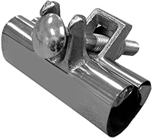 PlumBest R30125R Stainless Steel Repair Clamp, 1-1/4-Inch by 3-Inch