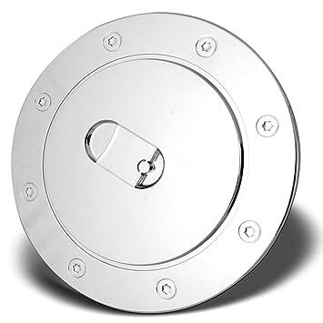 For GMC YUKON+XL 2000 2001 2002 2003 2004 2005 2006 Chrome Gas Cap Door Cover