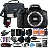 Canon EOS Rebel T6i 18MP Digital SLR Camera Retail Packaging 24 Piece Bundle (Body ONLY)