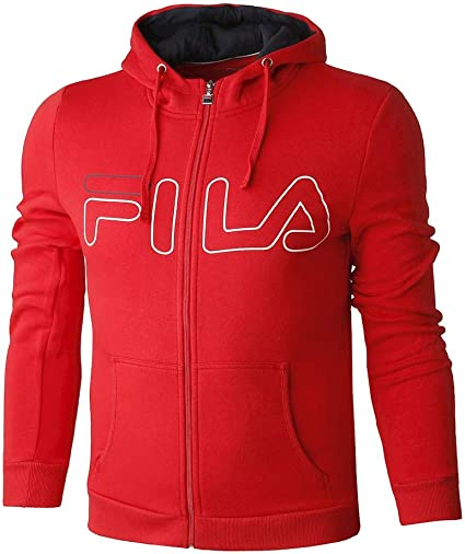 Sweat de sport zippé avec capuche Fila pour homme Fila Willy