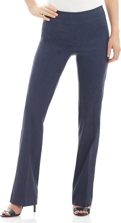 Rekucci Pantalon Bootcut Siempre Comodo de Mujer: Amazon.es: Ropa y accesorios
