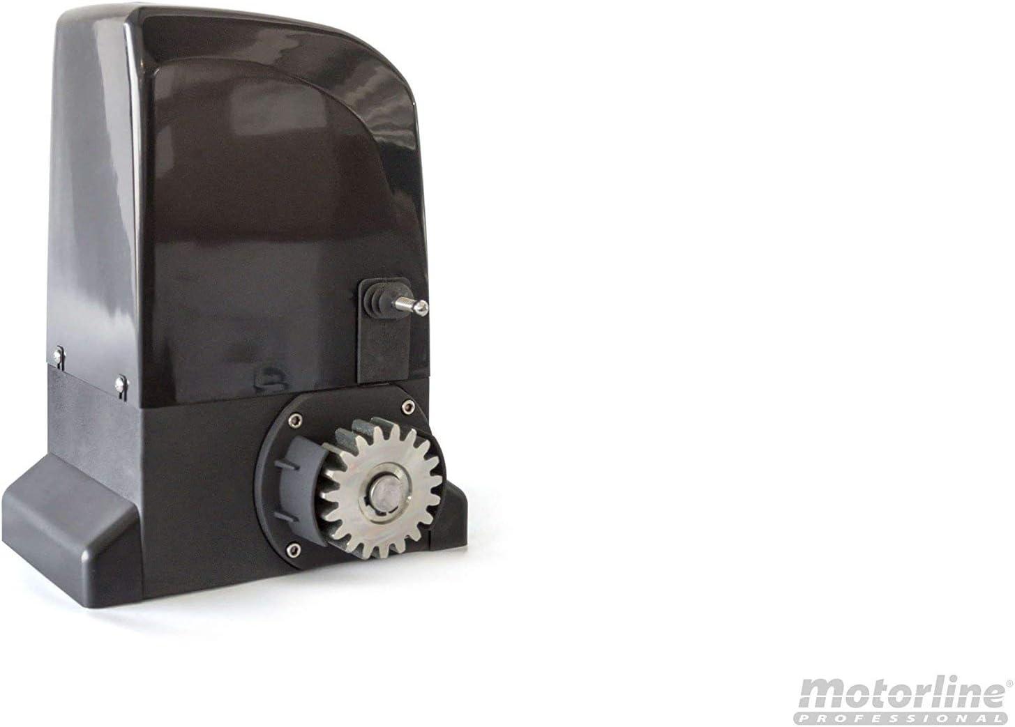 KIT Motor corredera Motorline Slide 800 Kg, para automatizar puertas y cancelas correderas de uso residencial, parking, garaje, cochera, alta calidad con 2 mandos alta seguridad: Amazon.es: Bricolaje y herramientas